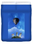 Up Through The Atmosphere Duvet Cover