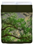 Up Through The Haunted Tree Duvet Cover