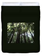 Up Through The Trees Duvet Cover