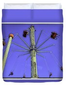 Up Up And Away 2013 - Coney Island - Brooklyn - New York Duvet Cover