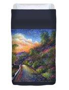 Uphill Duvet Cover