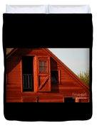 Upper Barn Door-3704 Duvet Cover