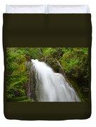Upper Cougar Falls Duvet Cover
