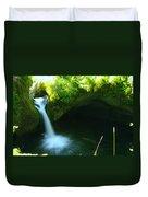 Upper Punch Bowl Falls Duvet Cover