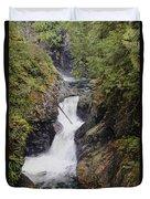 Upper Twin Falls Duvet Cover