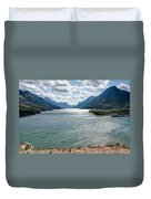 Upper Waterton Lake Duvet Cover