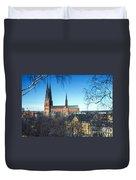 Uppsala Cathedral Duvet Cover