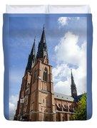 Uppsala Cathedral - Sweden Duvet Cover
