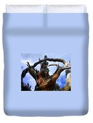 Uprooted Beauty Duvet Cover by Shane Bechler