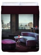 Uptown Groove Duvet Cover