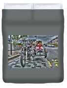 Ural Wolf 750 And Sidecar Duvet Cover