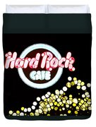 Urban Abstract Hard Rock Cafe Duvet Cover
