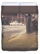 Urban Bicycle Duvet Cover