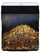 Urban Cross 2 Duvet Cover by James Brunker
