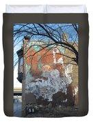 Urban Decay Mural Wall 4 Duvet Cover