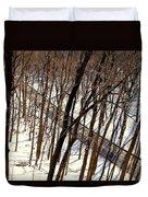 Urban Forest At Dusk Duvet Cover
