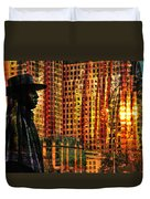 Urban Guru Duvet Cover by Skip Hunt