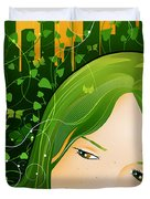 Urban Rosebudd Duvet Cover by Sandra Hoefer