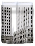 Urban San Francisco Duvet Cover