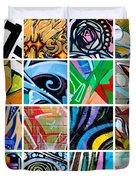 Urban Street Art Duvet Cover