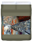 Urchins Of Time Duvet Cover