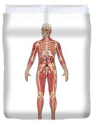 Urinary, Skeletal & Muscular Systems Duvet Cover