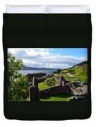 Urquhart Castle Ruins Duvet Cover