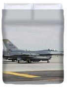 U.s. Air Force F-16c Planes Undergo Duvet Cover