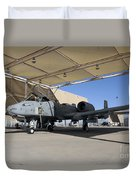 U.s. Air Force Pilot Performs Final Duvet Cover