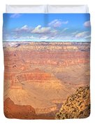 Us, Arizona, Grand Canyon, View Duvet Cover