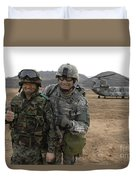 U.s. Army Commander, Right Duvet Cover