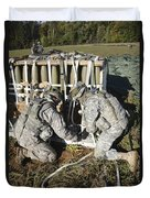 U.s. Army Europe Soldiers Perform Duvet Cover