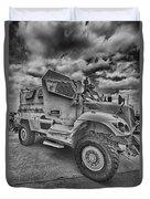 Us Army Troop Carrier Duvet Cover