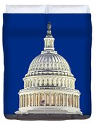 Us Capitol Dome Duvet Cover