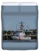 Us Coast Guard Yellowfin Duvet Cover