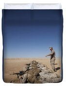 U.s. Marine Corps Officer Directs Duvet Cover