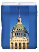 Us, Missouri, St. Louis, Courthouse Duvet Cover