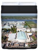 Us Naval Academy Duvet Cover