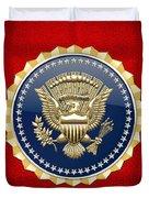 Presidential Service Badge - P S B Duvet Cover