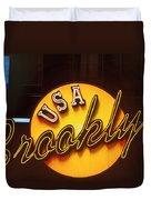 Usa Brooklyn Duvet Cover