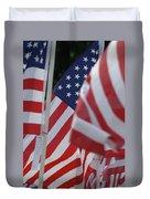 Usa Flags 01 Duvet Cover