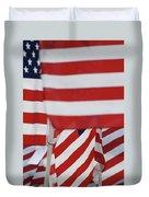Usa Flags 02 Duvet Cover