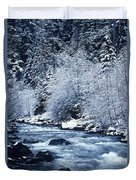Usa, Willamette National Forest Oregon Duvet Cover by Greg Vaughn