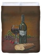 Usa Wine Duvet Cover