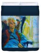 Use 2b So Ez - Alzheimer's Perch - The Long Good-bye Duvet Cover
