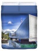 Uss Arizona Memorial- Pearl Harbor Duvet Cover