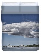 Uss Arizona Memorial-pearl Harbor V2 Duvet Cover
