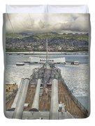 Uss Arizona Memorial-pearl Harbor V4 Duvet Cover