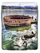 Uss Arizona Memorial- Pearl Harbor V7 Duvet Cover
