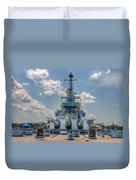 Uss North Carolina Duvet Cover